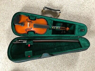 Stentor Student 1 Violin 4/4 Full Size With Bow And Case In Great Condition