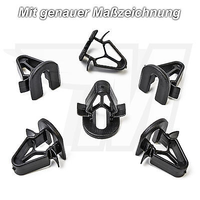 30x Mounting Clips Indoor Panelling Clamps for Volvo 9132876