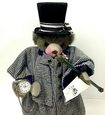 Vintage 1991's Very Rare Apple Whimsey's LORD WINDSOR Bear Doll