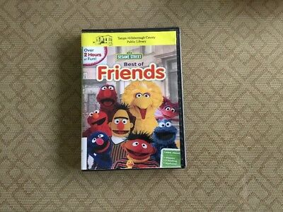 Sesame Street: Best of Friends 2012 Fun And Learning ( DVD) VGC.