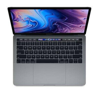 """Apple MacBook Pro 13"""" Retail $2700 Laptop with Touchbar and Touch ID, 256GB"""