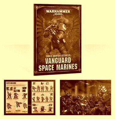 Codex: Vanguard Space Marines, Vanguard Primaris, Warhammer 40k, Shadowspear.