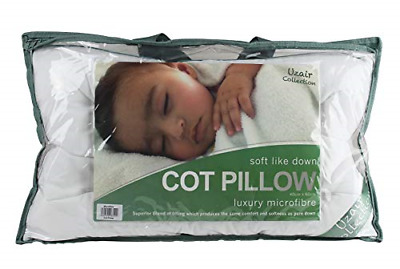 BEDWAY - COT Pillow - Microfibre - Soft Like Down – Anti Allergy Toddler Pillow