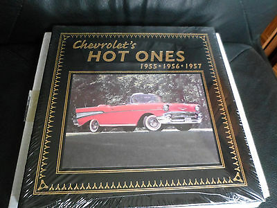 Easton Press - CHEVROLET's HOT ONES  1955 - 57 by Anthony Young - Leather Sealed