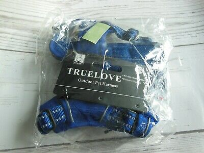 TRUE LOVE Adjustable No-Pull Dog Harness Reflective Pup Vest Harness XS