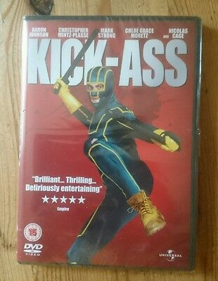KICK-ASS  DVD  NEW and sealed  Nicolas Cage  Aaron Johnson  Mark Strong