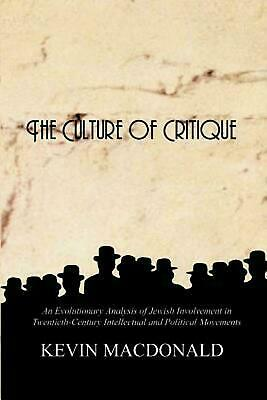 The Culture of Critique: An Evolutionary Analysis [ĒßØØḱ] (10 min delvry )