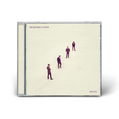 Mumford and Sons CD Delta - New Sealed - Cracked Case