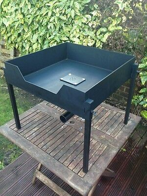 Portable Blacksmith Forge Farrier Forge For Solid Fuel Coke Charcole Bench Unit