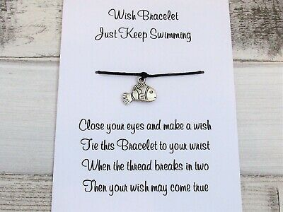 A Star For Guidance Wish Bracelet Friendship Gift Card Charm Anklet Positivity