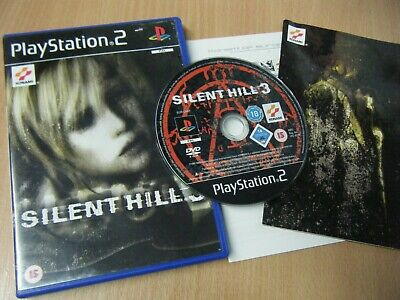 Silent Hill 3 Playstation 2 Game Complete With Manual