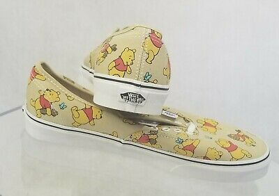 7c219008cb937e Vans Sz 12 Winnie the Pooh Disney Collaboration Off the Wall Sneakers NWT