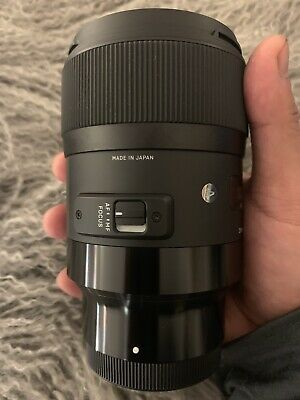 Sigma ART 35mm F1.4 DG HSM lens for Sony-E mount