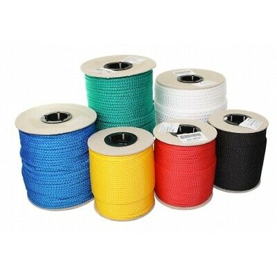 LINDEMANN braided rope roll white 100m 305kg load