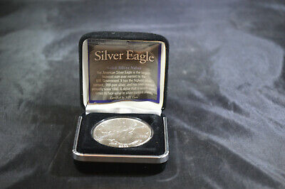 2003 US Mint American Silver Eagle 1 oz  Coin in Box & COA