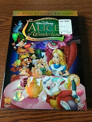 Alice in Wonderland Special Edition, Special Un-Anniversary Edition DVD NEW