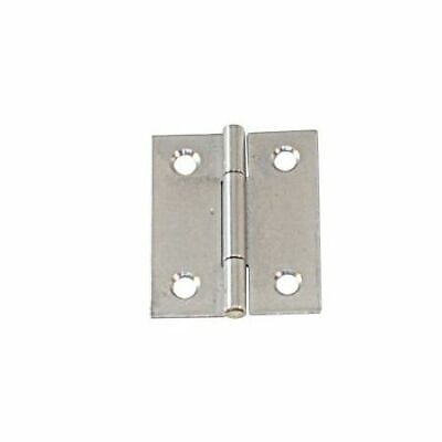 Hinge Semi Wide Stainless Steel Satin Finish 60 x 46 x 1.2mm LINDEMANN