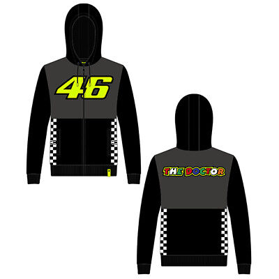 VR46 Full Zip Hoody MONSTER Valentino Rossi Official MotoGP Merchandise Hoodie