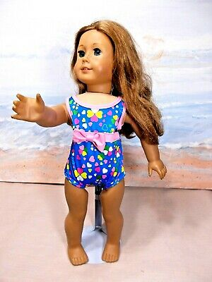 Doll  Clothes Cute Swimsuit Fits American Girl 18 in. Dolls
