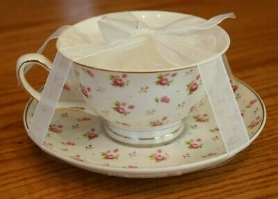 Grace's Teaware Pink Petite Flowers Teacup Floral Grace Tea Birthday Easter Gift