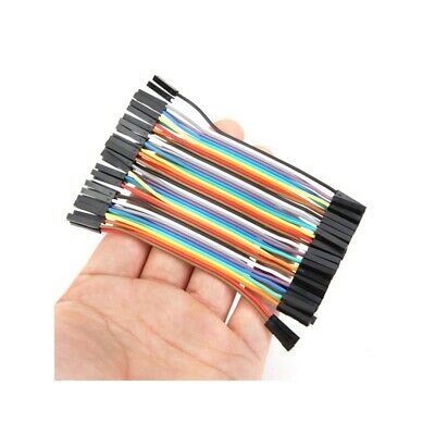 200pcs 10cm Female To Female Jumper Cable Dupont Wire For Arduino
