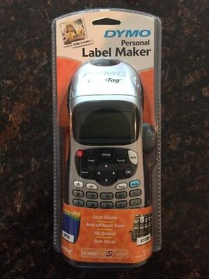 DYMO LetraTag LT-100H Handheld Label Maker for Office or Home NEW
