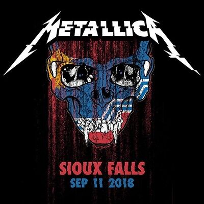 METALLICA / World Wired Tour / LIVE / DSP Center - Sioux Falls , Sep. 11, 2018