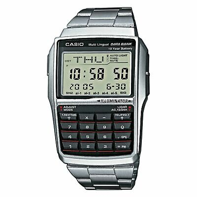 Casio Databank, Calculator Watch, Dbc-32D-1Aes, New With Tags.
