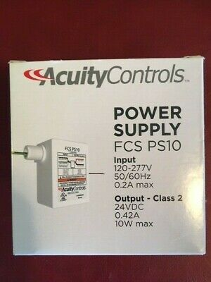 Acuity nlight FCS PS10 power supply 120/277V - 24VDC