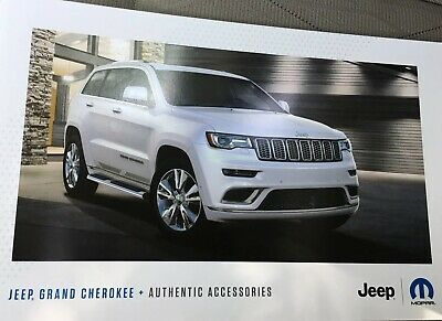 2019 Jeep Grand Cherokee Accessories 16 Page Original S Brochure