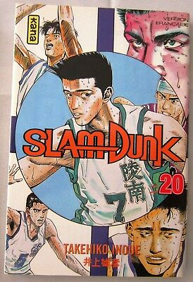 MANGA - SLAM DUNK - Tome 20 - Par Takehiko Inoue - Edition KANA