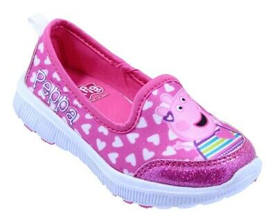 e90be2eec90e Peppa Pig │Toddler Girls canvas   athletic shoe - Little girls kids shoes
