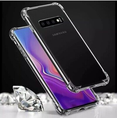 Shockproof Case For Samsung Galaxy S10 Plus S10E Crystal Clear Gel TPU Cover