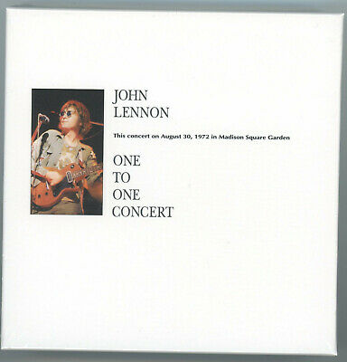 SEALED John Lennon - One To One Concert ZUES 3 CD LIMITED EDITION Box Set
