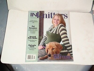 Knitting Machine Magazine/ Book: In Knitters Fall 2006 Vol  6 No 20