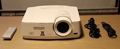 Mitsubishi WD570U 3D ready DLP  Projector.Lamp Hours used, from 165 to 204 Hours