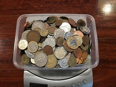 World Coins Mixed Lot 2.5 Kg