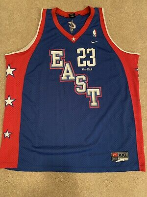 buy online 2f99e 3c937 NIKE 2004 ALL Star Game Cleveland Cavaliers #23 LEBRON JAMES ...