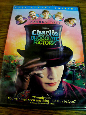 Charlie And The Chocolate Factory (Dvd-Like New-Color-Full Screen) Johnny Depp