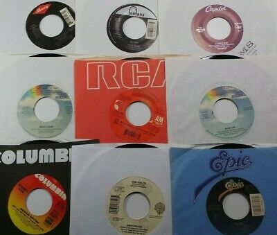 NM Lot Of 100 45's Rock Pop Country R&B VG++ Vinyl 45 Record
