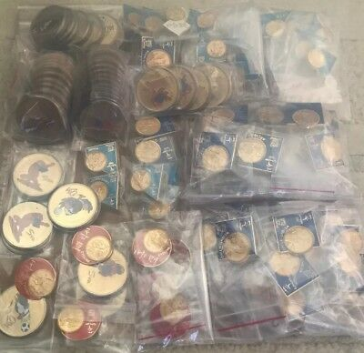 Sydney Olympic 2000 Collectors Trading Pins & Medallions (Bulk Lot 125 Pieces)