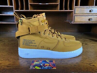 Details about Nike SF AF1 Air Force 1 Mid Men's Shoes Boots Desert Ochre UK 6.5 EUR 40.5