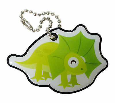 Flick the GeoTrack Frilled-Neck Lizard - Trackable for Geocaching