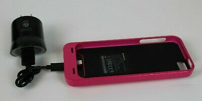 093f3a653 Mophie Juice Pack Helium Pink Iphone 5 5S Se Charger External Battery Backup