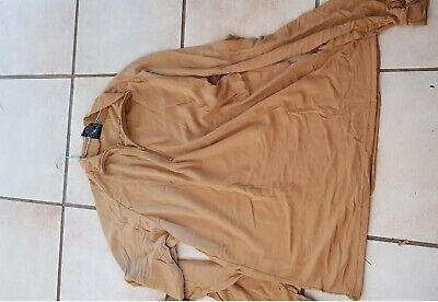 Australian Army Tan Polo Shirt XXL (issued as Cold weather gear to Aussie troops