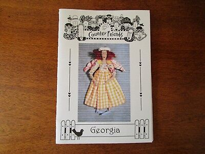 Country Friends Doll Pattern Of Georgia By Wendy Briggs From 2001