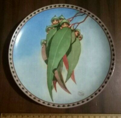 May Gibbs Australiana Collectable Gumnut Plate 'Bush Babies' limited edition 94