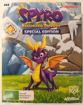 BRAND NEW | Spyro Reignited Trilogy Special Edition G2 Steelbook | Sony PS4