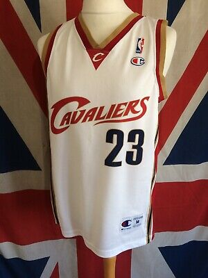 promo code 1332a fd501 NBA CLEVELAND CAVALIERS Champion Lebron James 23 Champion Jersey Vest Top  Medium
