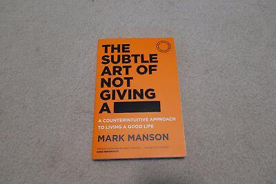 The Subtle Art of Not Giving a F*Ck - Mark Manson *BRAND NEW* Paperback